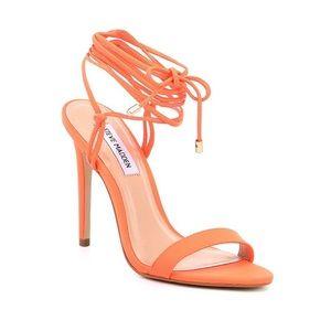 "Steve Madden ""Level"" heel in neon orange"